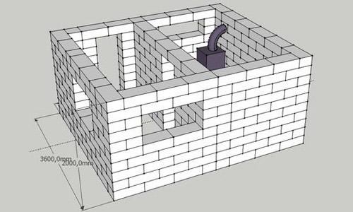 Как построить баню из пеноблоков своими руками видео